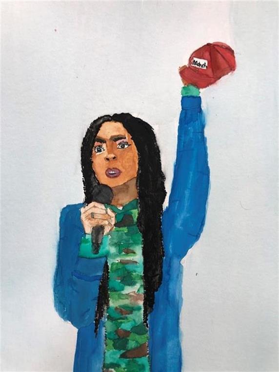 Picture of Tyra Hemans by Mariam Tehari, Boys&Girls Club LB