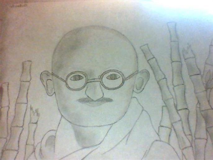 Picture of The Peace of Gandhi by Archer Lasalle of OCASA
