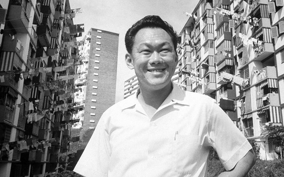 Picture of Lee Kuan Yew