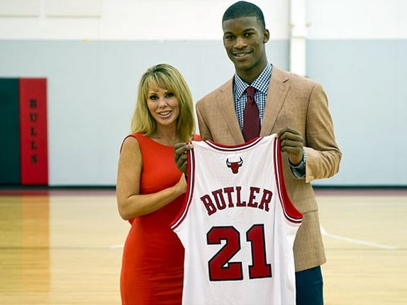 Image result for jimmy butler michelle lambert