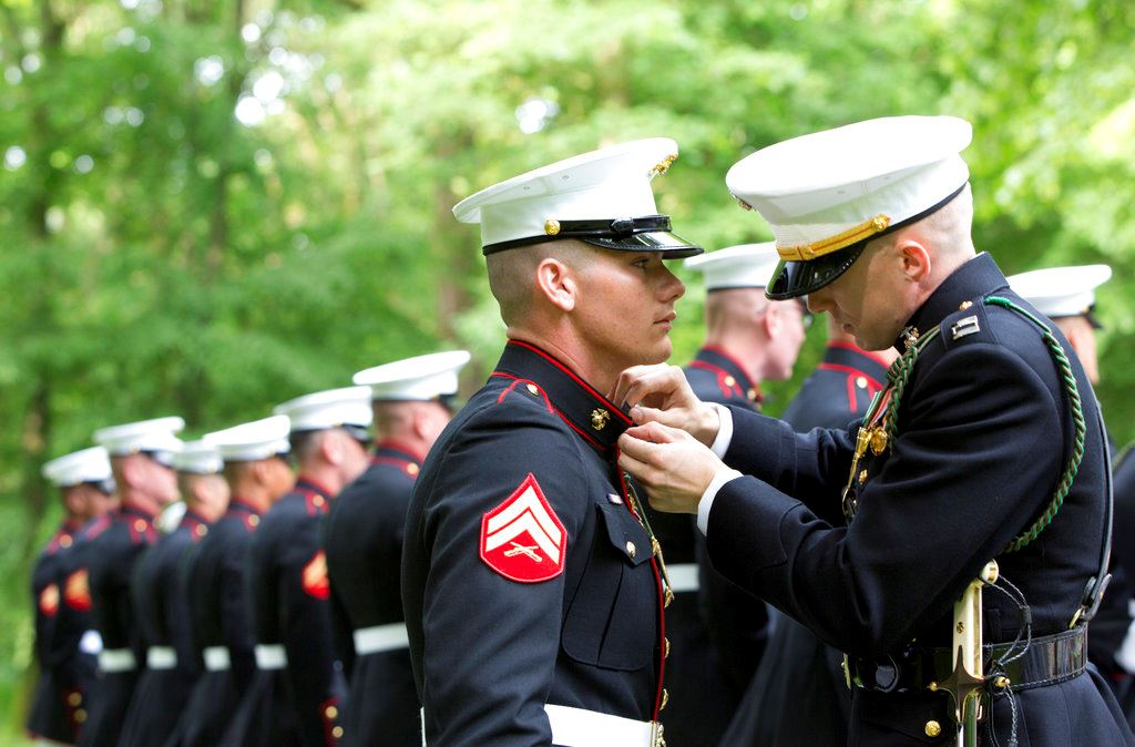 Picture of US Marines' bravery celebrated 100 years after French battle
