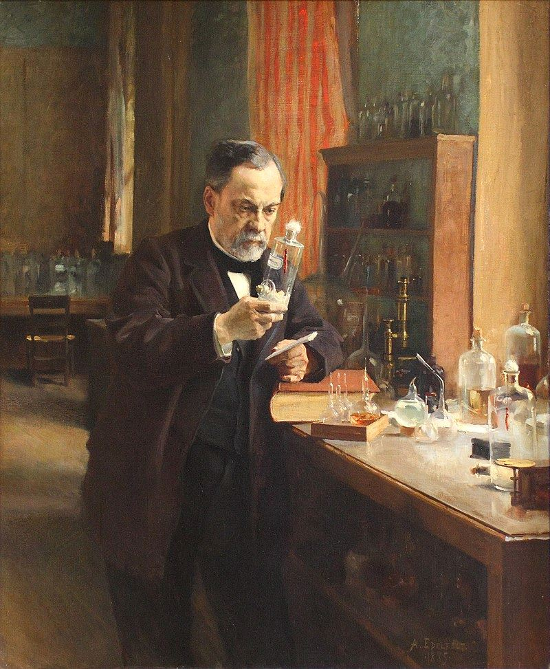 Picture of Louis Pasteur - The Father of Microbiology