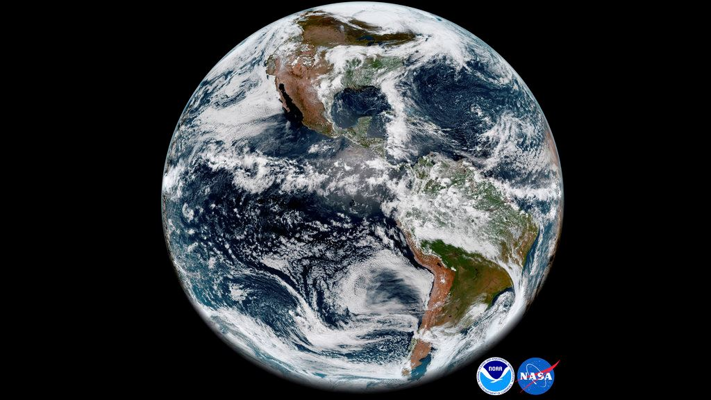 Picture of Ailing weather satellite produces sharp snapshot of Earth