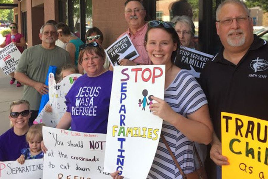 Picture of Family separation: Evangelicals add their voices to opposition