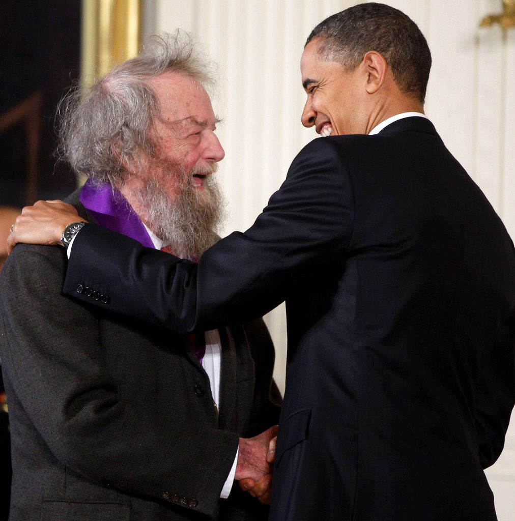 Picture of Prolific, painfully candid ex-poet laureate Donald Hall dies
