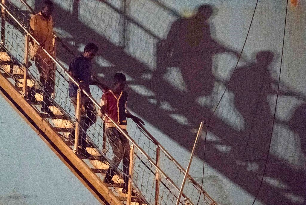 Picture of Italy, others to take migrants but fate of NGO ship unclear