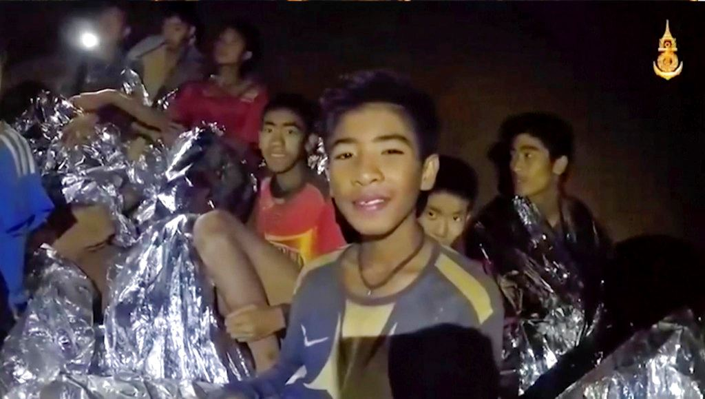 Picture of Boys' team identity, meditation may ease stress in Thai cave