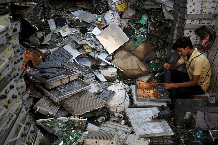 Picture of 'E-waste': Getting grip on a growing global problem