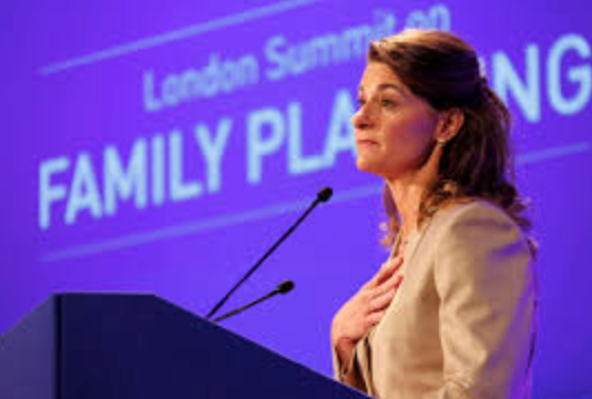 Picture of Melinda Gates — Elevating Humanity Through Its Women