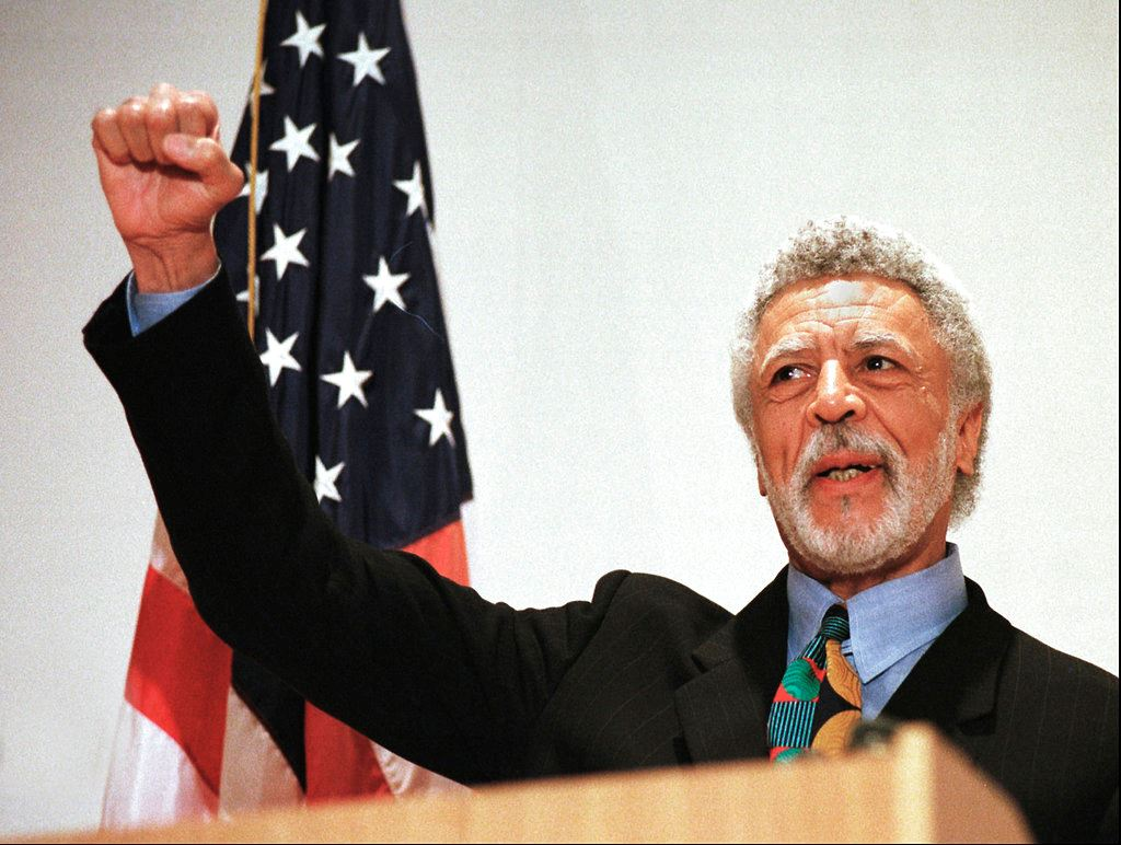 Picture of California's fiery former congressman Ron Dellums dies at 82