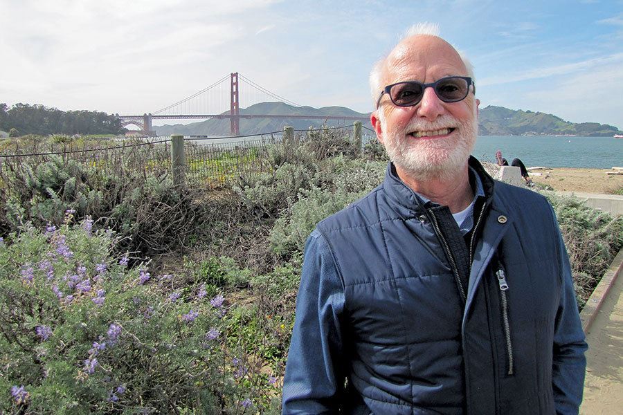 Picture of The man behind many enhancements enjoyed by visitors at Golden Gate parklands