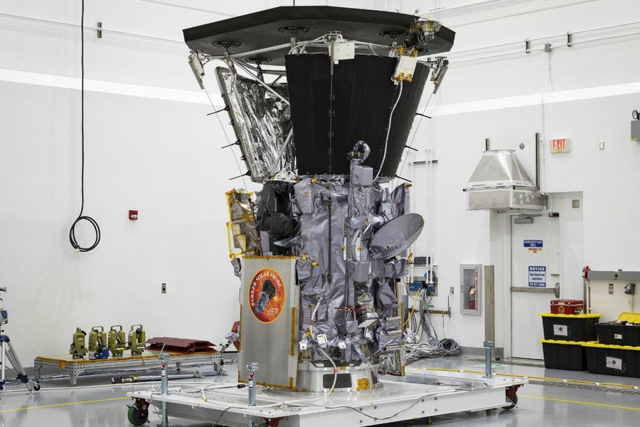 Picture of NASA's newest probe to be first to 'touch' the sun