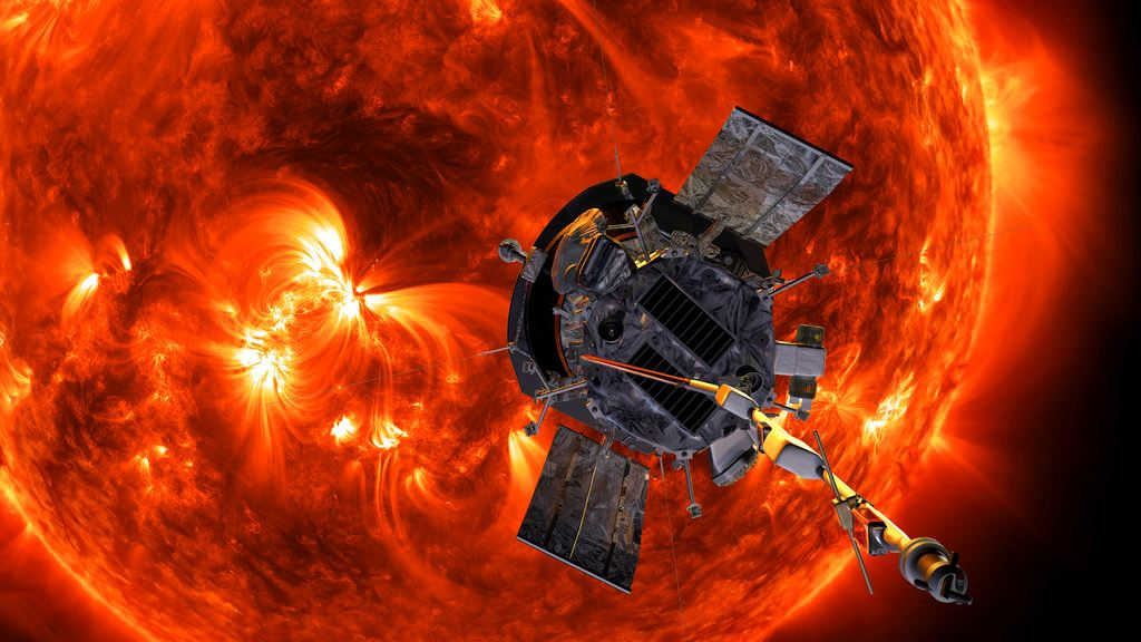 Picture of 'Touch the sun': NASA spacecraft hurtles toward our star