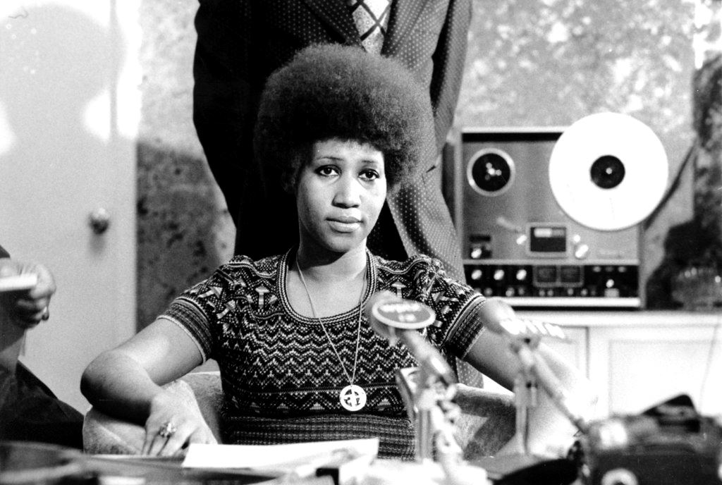 Picture of Queen of Soul also leaves a powerful civil rights legacy