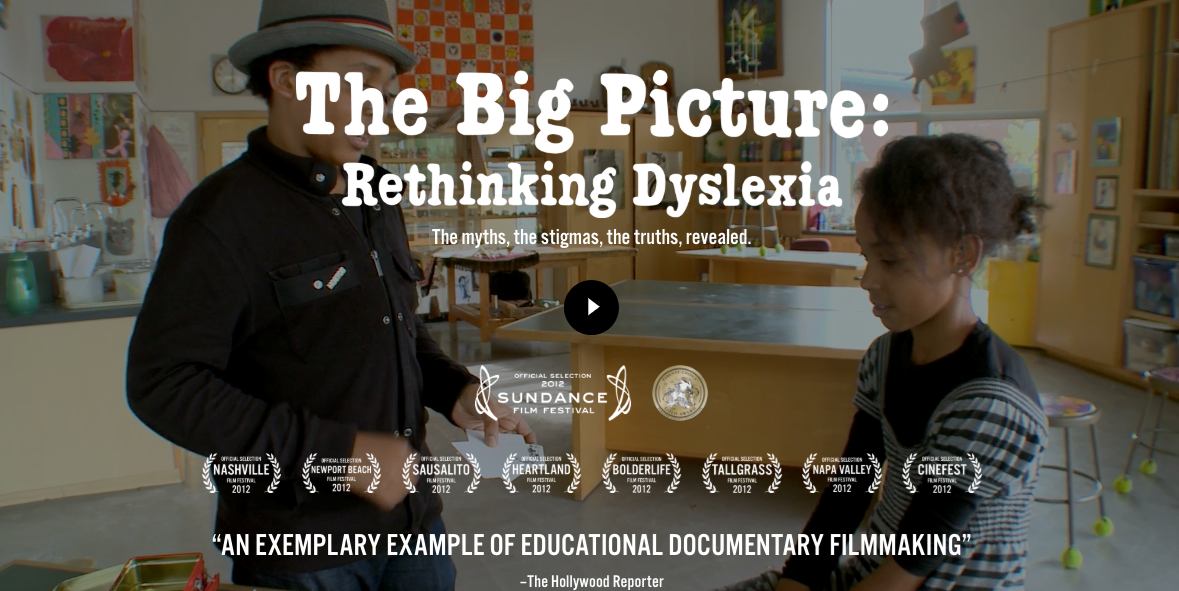 Picture of The Big Picture: Rethinking Dyslexia [Trailer]