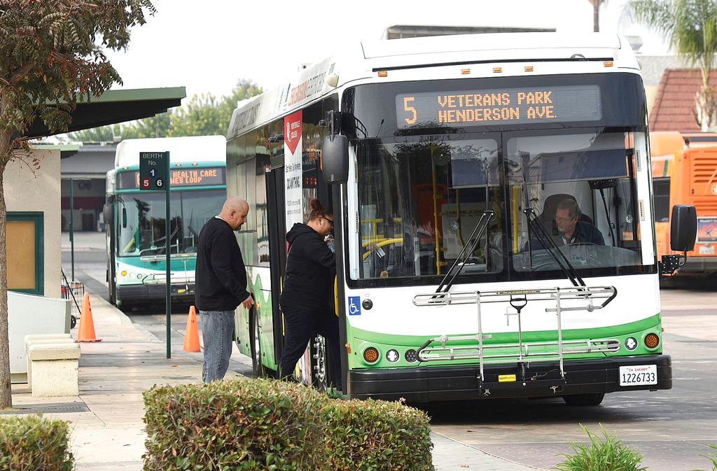Picture of California is first state to mandate zero-emission bus fleet