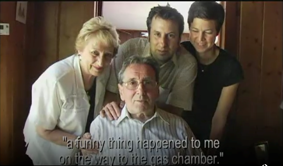 "Still of Werner Reich, from the documentary ""Telling Jokes in Auschwitz"""