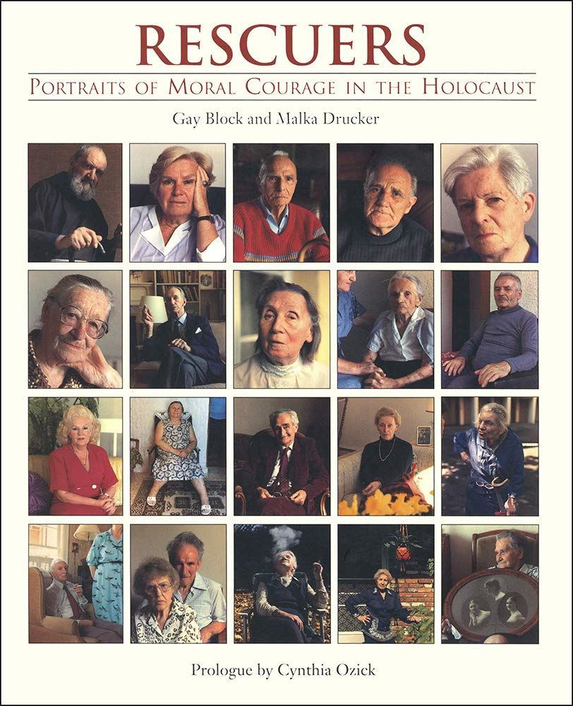 Book cover of Rescuers: Portraits of Moral Courage in the Holocaust