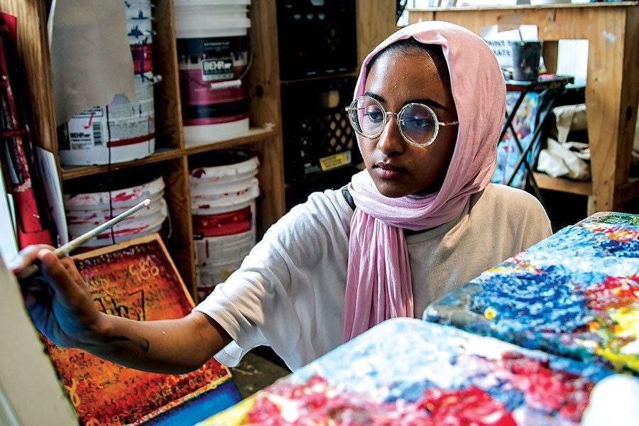 Picture of Under-resourced students find confidence and employment in this art program