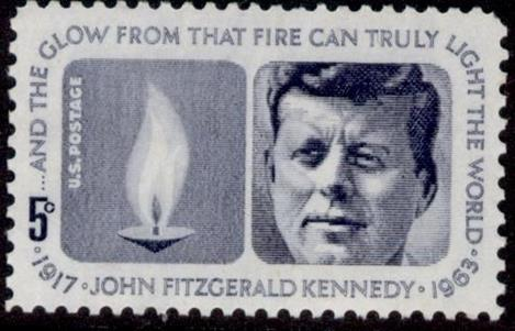 Picture of John F Kennedy 1917-1963 design by Raymond Loewy