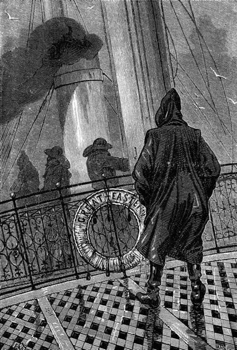 Picture of Illustration from Jules Verne's A Floating City