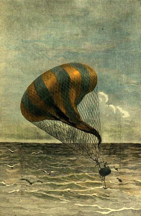 Picture of Illustration from Jules Verne's A Drama in the air