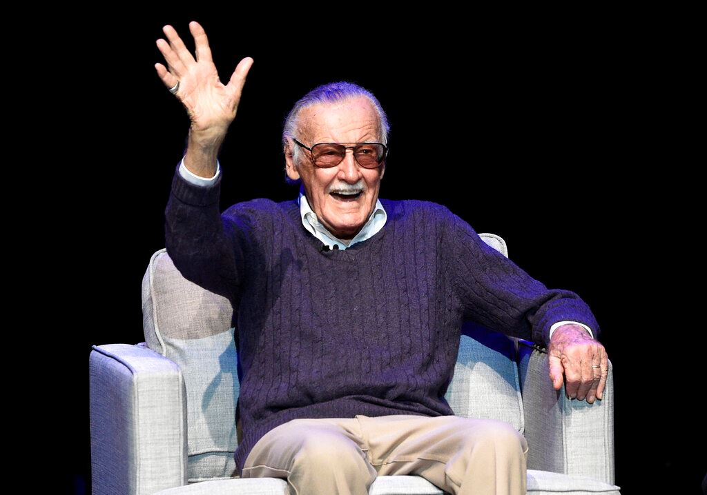 Picture of Marvel's Stan Lee gets hero worship at Hollywood memorial