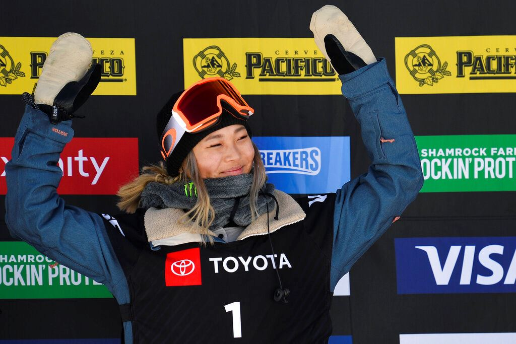 Picture of For Chloe Kim, another title, and taste of things to come