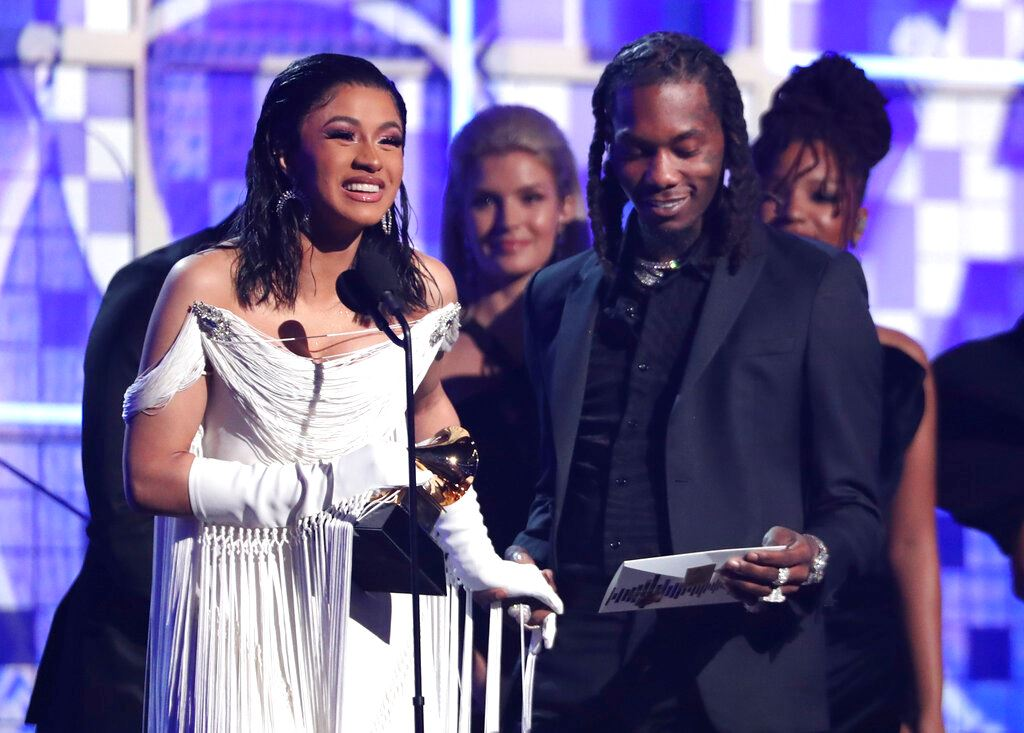 Picture of Rap artists and women take center stage at Grammy Awards