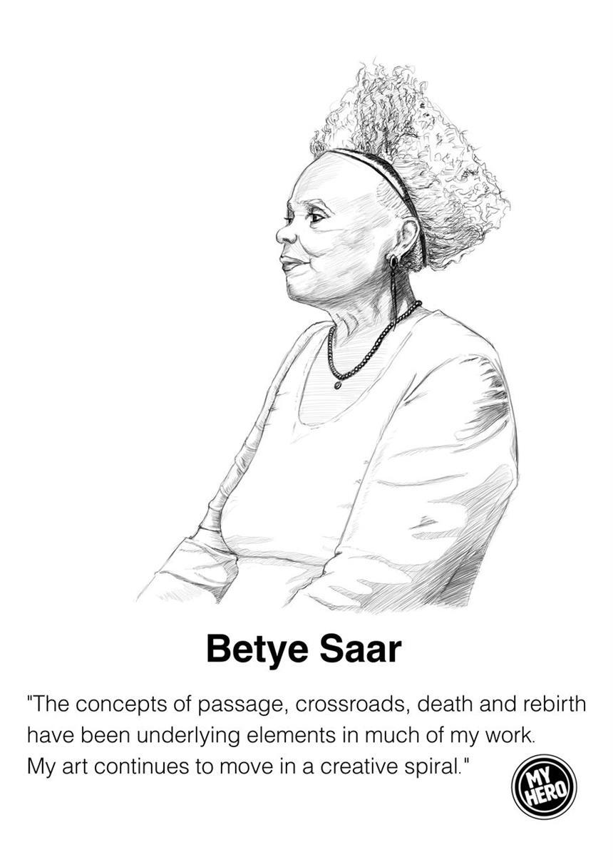 Picture of Portrait of Betye Saar