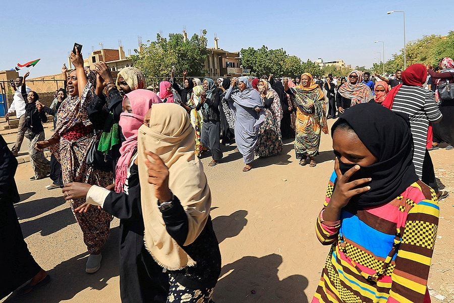 Picture of 'A women's revolution': Why women are leading calls for change in Sudan