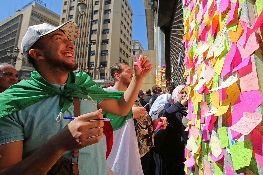Picture of Algeria protests: Finding a voice, youth seek more than token change