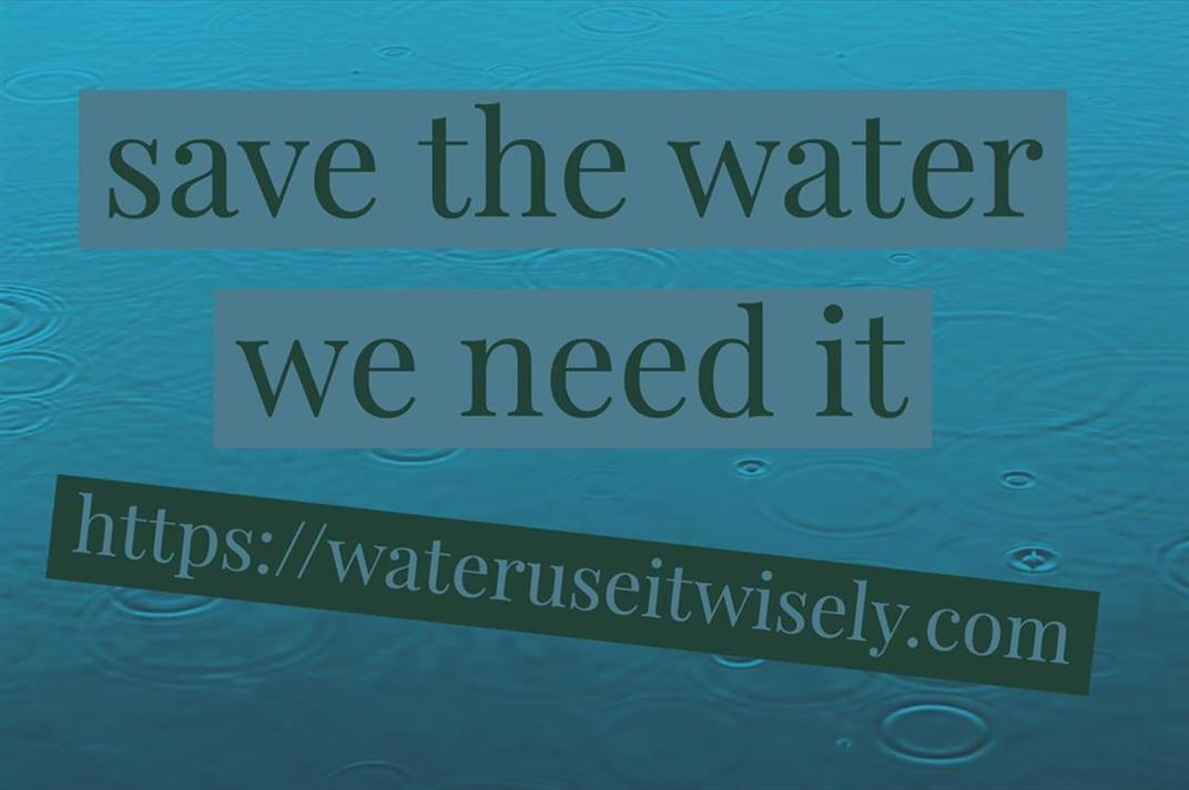 Picture of Water: Use it Wisely by Andy from California