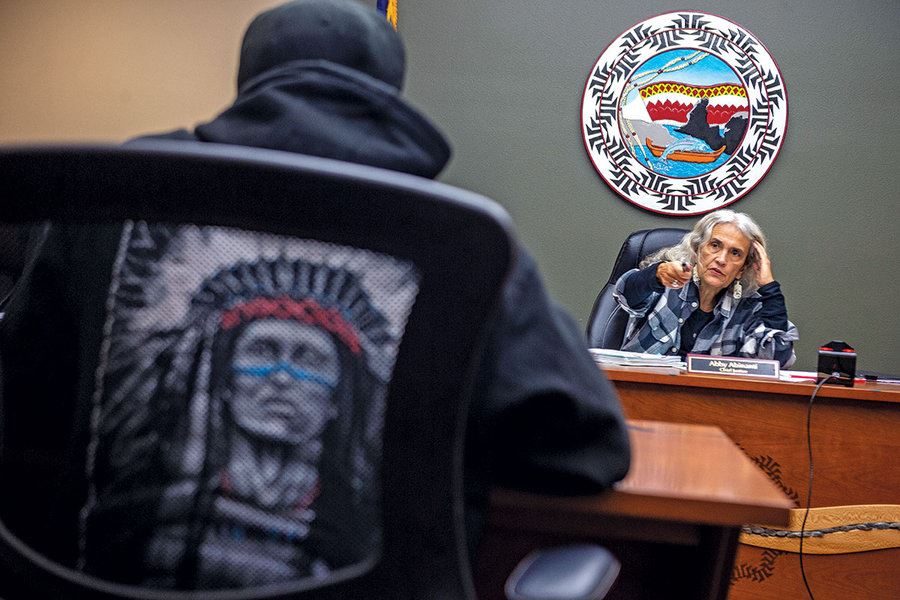Picture of Native justice: How tribal values shape Judge Abby's court