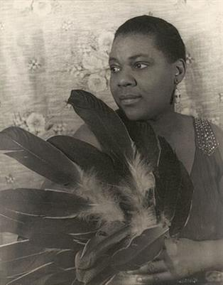 Picture of Bessie Smith, photograph by Carl Van Vechten