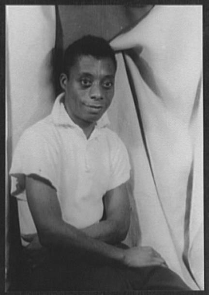 Picture of James Baldwin , photo by Carl Van Vechten