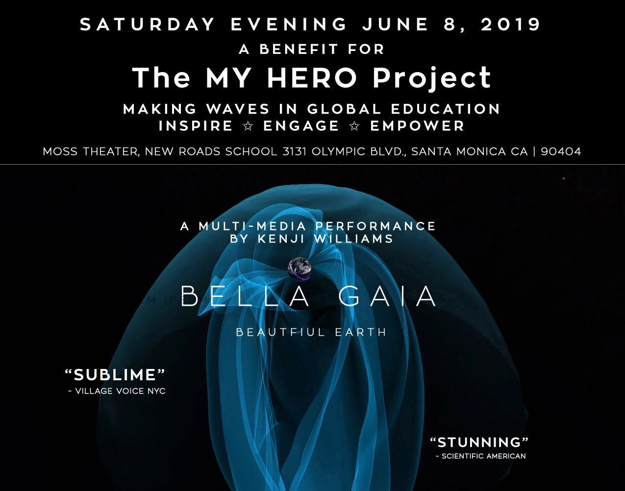 Picture of A NIGHT OF HEROES -  A  BENEFIT FOR MY HERO MEDIA ARTS EDUCATION