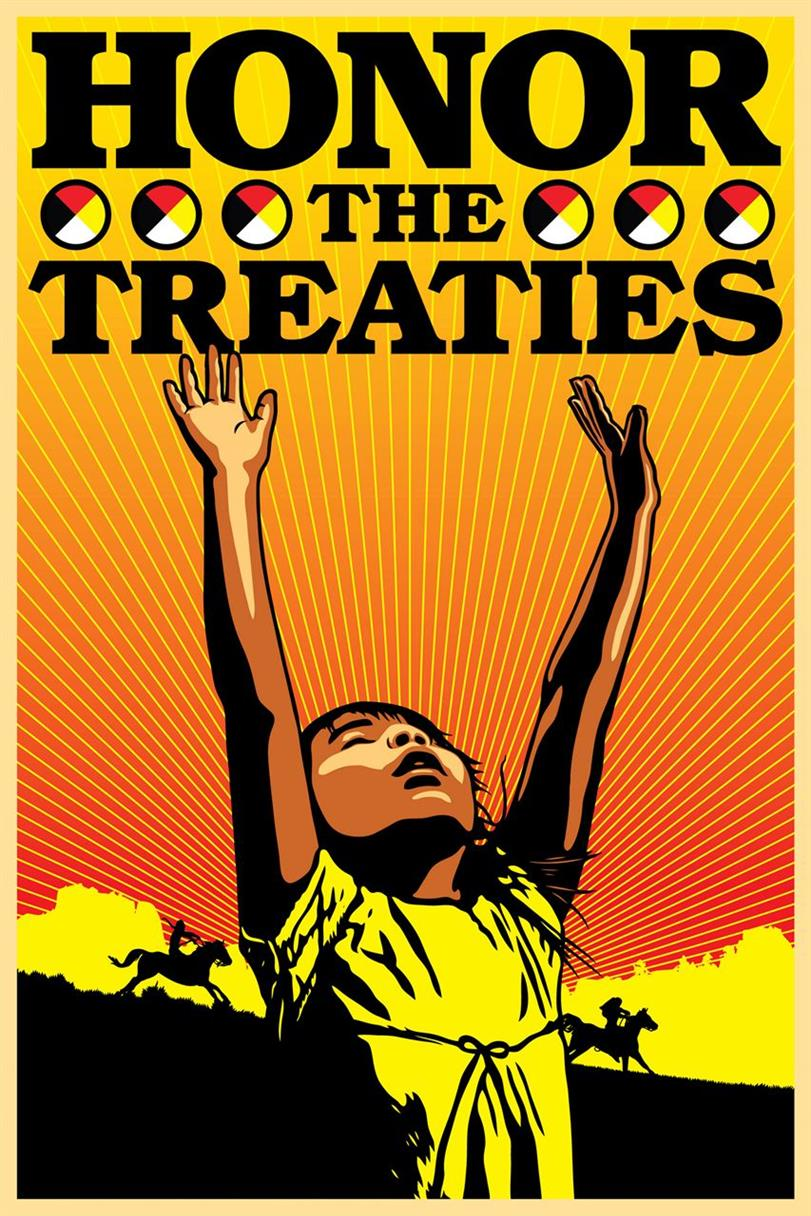 Picture of Honor the Treaties by Ernesto Yerena for Amplifier