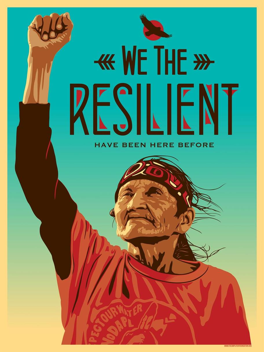 Picture of We The Resilient by Ernesto Yerena for Amplifier