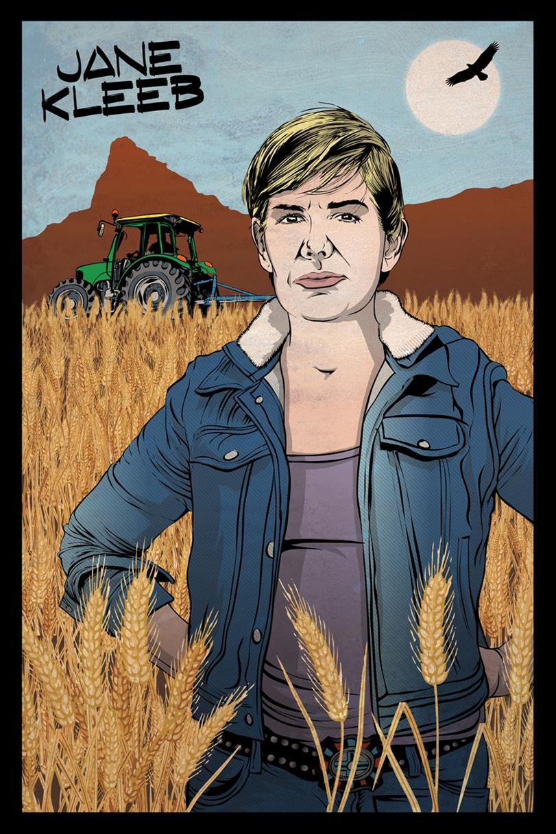 Picture of Jane Kleeb- My Climate Hero by Dan Goldman