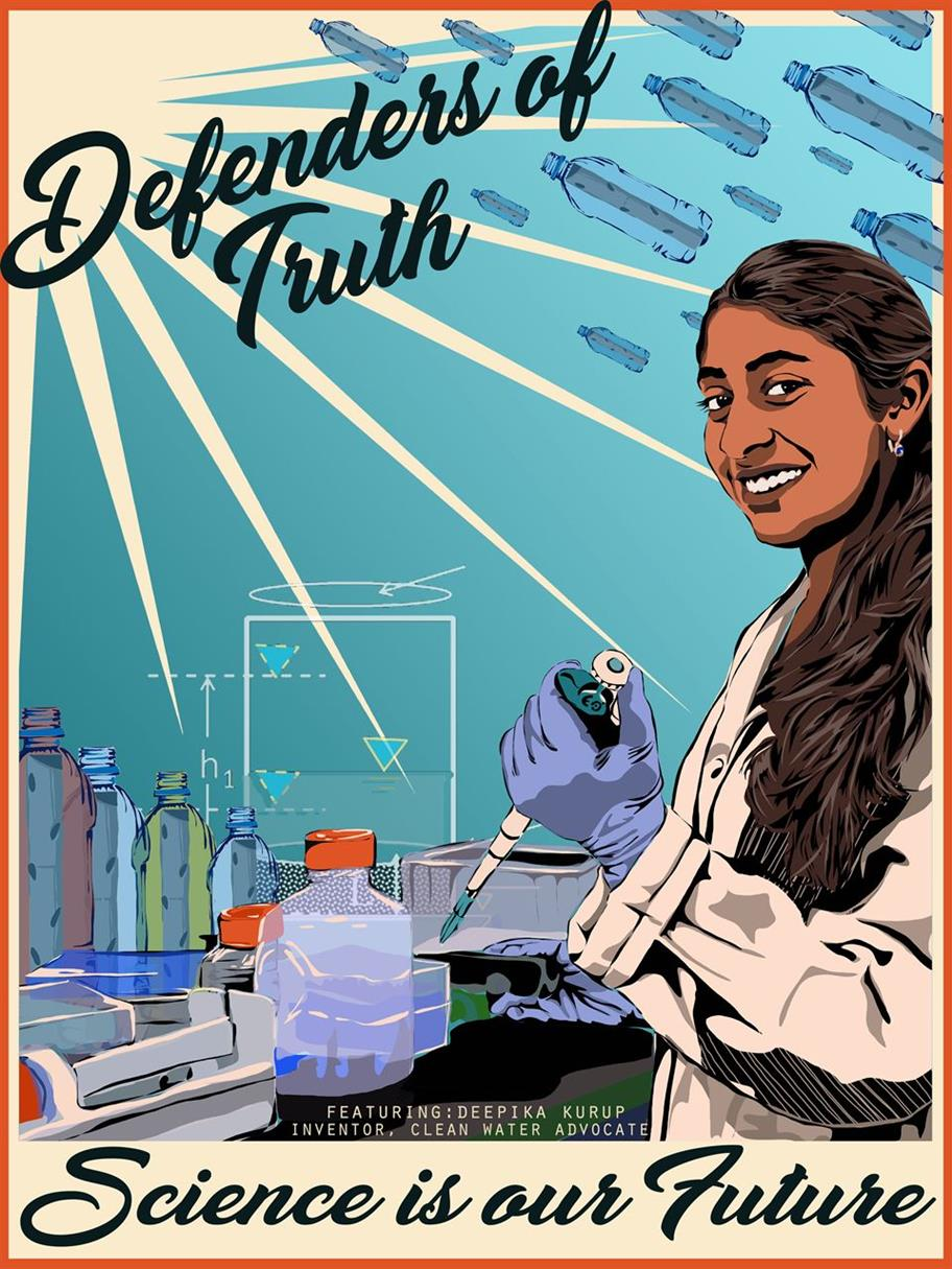 Picture of Defenders of Truth -Deepika Kurup by Kate Deciccio