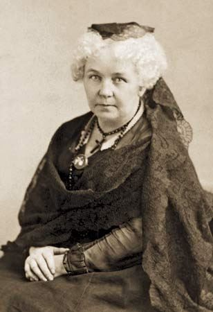 Picture of Elizabeth Cady Stanton