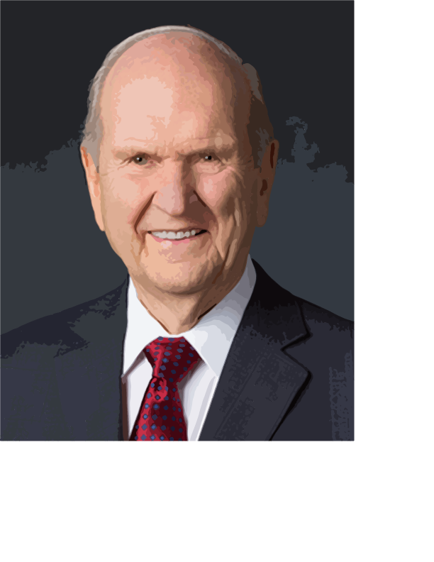 Picture of Russell M Nelson by Kade from Idaho