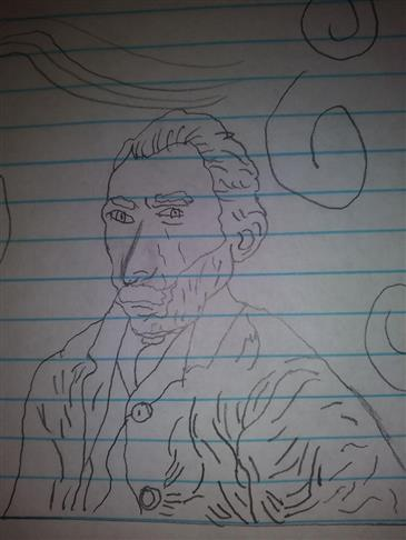 Picture of Vincent Van Gogh by Sabrynna from Idaho