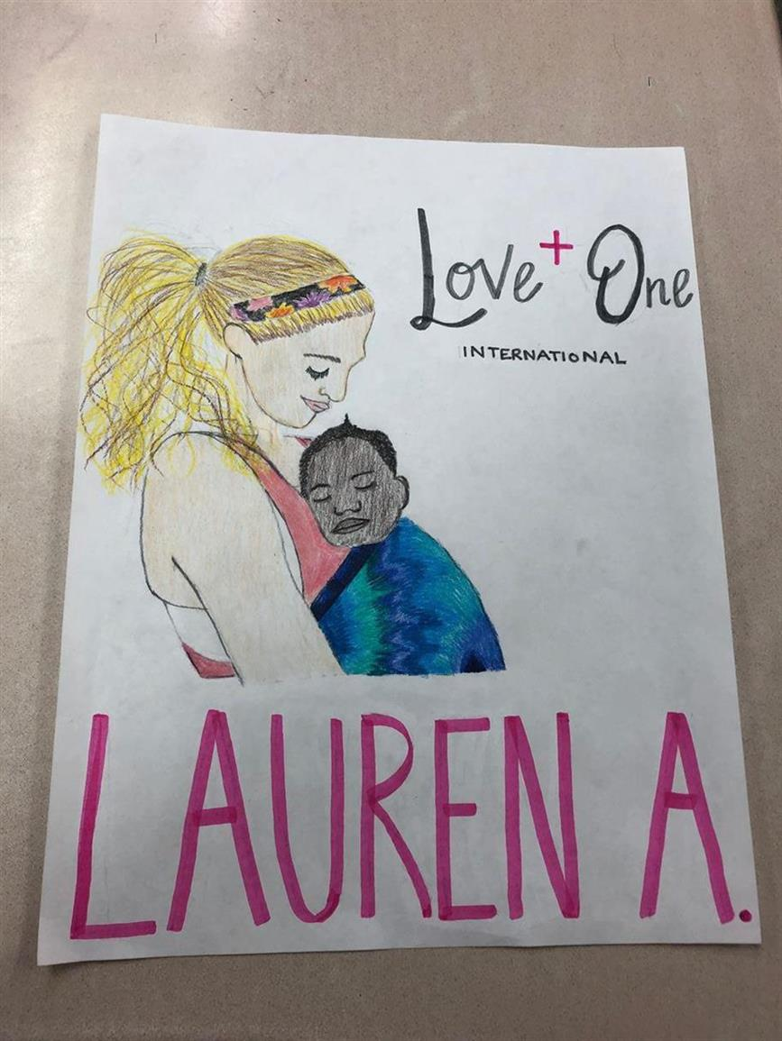 Picture of Lauren Akins, nurse  humanitarian by Terin Garrard