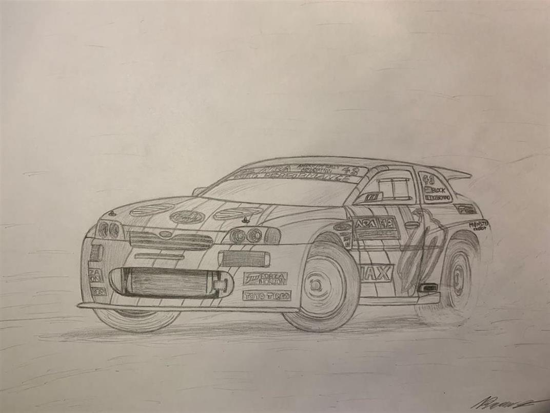 Picture of Ken Block Escort Cosworth V2 by Branon from Idaho