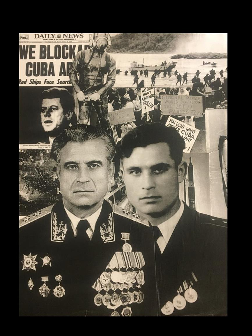 Picture of Vasili Alexandrovich Arkhipov, the Cold War Superman.