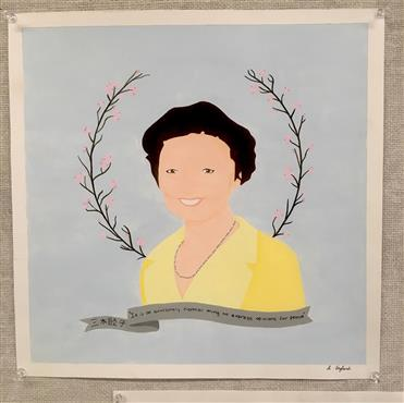 Picture of Mutsuko Miki by Haley Dawn of British Columbia