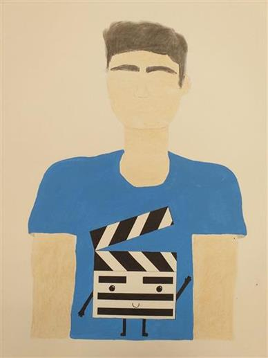 Picture of Noah's shirt by Claudia Carvajal from Canada