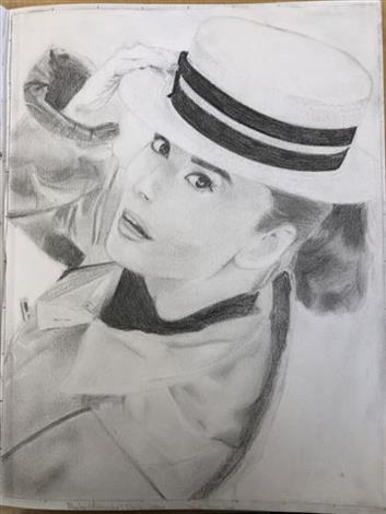 Picture of Audrey Hepburn by Jenna from British Columbia